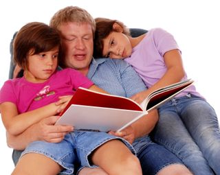 Family Conversations - Father Reading