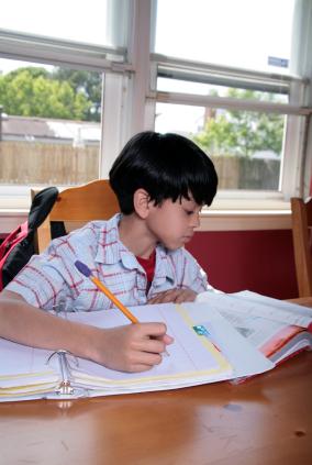 Divorced parents and homework