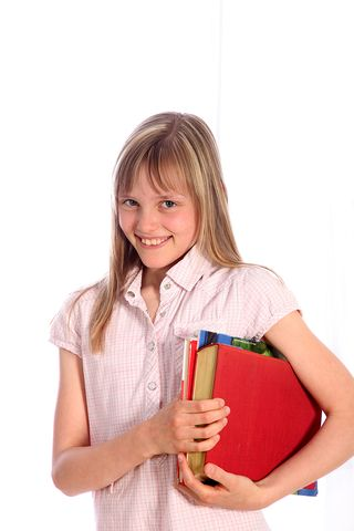 Smiling_Girl_With_Books