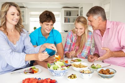 Family Meal with Teens