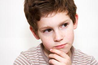 Boy thinking 25471715
