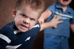Boy angry preschool bigstock--9633062