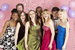 Boys and girls bigstock-Group-Of-Teenage-Friends-Dress-13901207