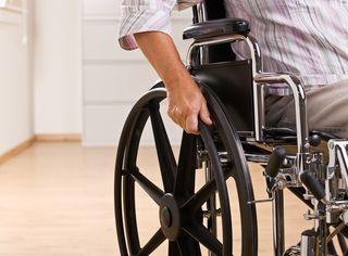 Boys Wheelchair bigstock-27202703