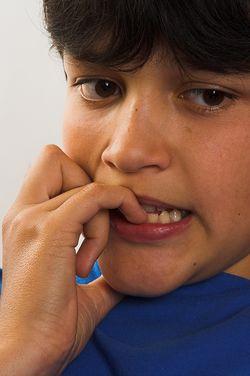 Boy feeling fear jpg
