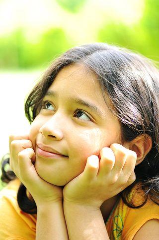 Girl Thinking International