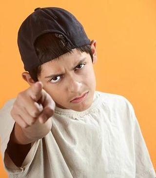 Boy teen angry bigstock