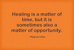 Healing-is-a-matter-of