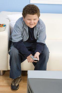 Bigstock-Teenage Boy TV-36471100
