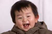 Happy Asian Baby
