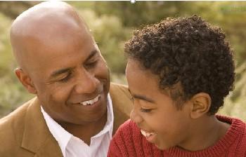 Black Dad Discussing SMALLERJPG