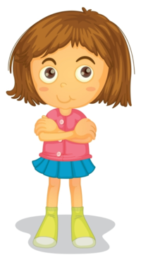 Cartoon Unfriendly Fifi bigstock