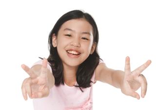 Asian Smart Girl