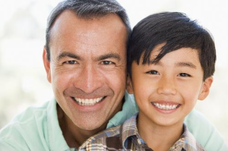 Asian dad and son SMALL