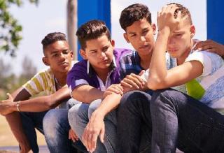 Boys Comforting SMALL