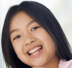 Asian Girl Smiles SMALL
