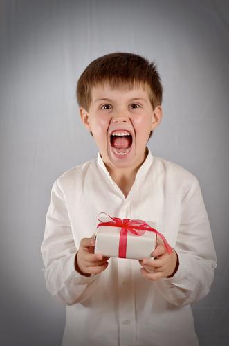 Angry Boy present