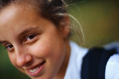 Girl Smiling 700x466